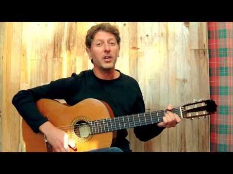 La princesse et le croque-notes - G.BRASSENS  (guitar & vocal cover)