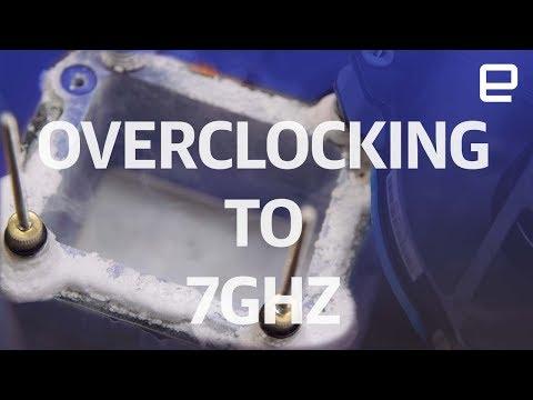 Overclocking to 7GHz with Liquid Nitrogen | Hands-On | Computex 2017