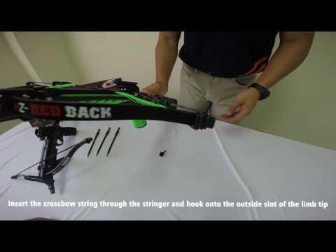 Hori-Zone Pistol Crossbow Redback Deluxe 80lbs - Mökkimies com