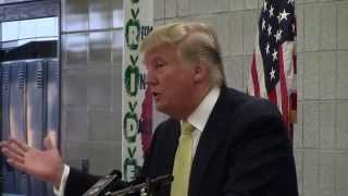 Donald Trump speech at Winterset High School 6-27-15