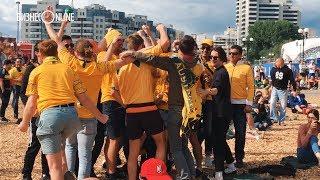 Австралийцы радуются голу сборной: в фан-зоне Казани вновь кипят страсти