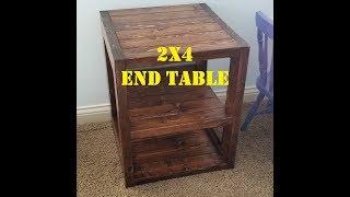 Workshop - 2x4 End Table Build