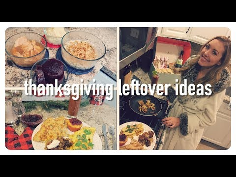 thanksgiving leftover recipe ideas you'll actually want to eat | brunch menu | brianna k