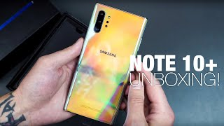 Samsung Galaxy Note10+ Unboxing and Tour!