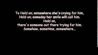 Hold on - Chris De Burgh - lyrics