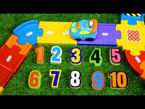 Smart Wheel City: Number Hunt! VTech Go! Go! Smart Wheels Counting Game