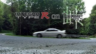 Integra Type R on mountain pass | touge