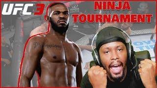 He Got Knocked The FLUFF OUT! Ninja Member UFC 3 Tournament!