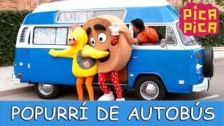 Pica Pica - Popurrí de Autobús (Videoclip Oficial) - English Pitinglish