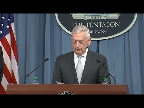 James Mattis: « Clearly, the Assad regime didn't get the message last year »