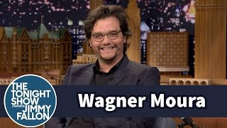 The Tonight Show Starring Jimmy Fallon - Wagner Moura Went Back To College To Learn Spanish For Narcos