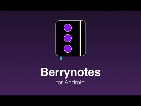Video of Berrynotes
