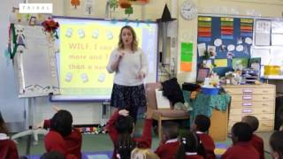 EYFS Lesson Observation: Reception Numeracy KS0 (excerpt)