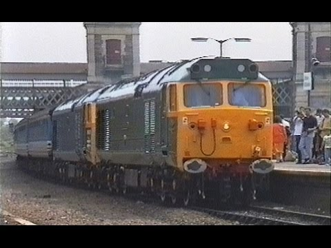 Network SouthEast Class 50 Finale with 50007 & D400 24th May…