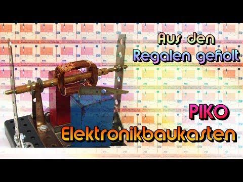 Aus dem Regal geholt - PIKO Elektrobaukasten: Gleichstrommotor