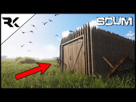 SCUM - BASE BUILDING IS HERE! What Can We Build???