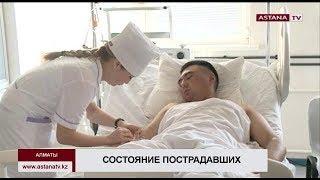 Родственники смогли навестить солдат, пострадавших при взрыве на полигоне Алматинской области