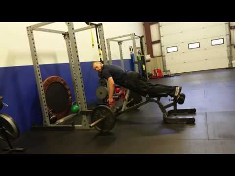 Exercise of the Week - Barbell Chest Supported Row