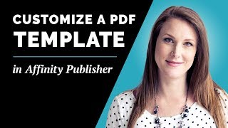 How To Edit And Customize Low-Content Book PDF Template In Affinity Publisher