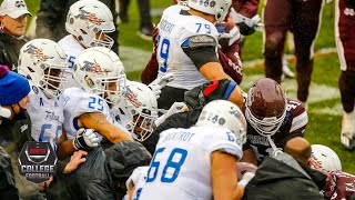 Massive brawl erupts between Tulsa & Mississippi State at Armed Forces Bowl   ESPN College Football