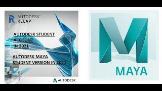 Autodesk Student Account Activation In 2021/ Autodesk Maya Student Version In 2021