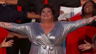 """Keala Settle performs """"This Is Me"""" at the 2019 A Capitol Fourth"""