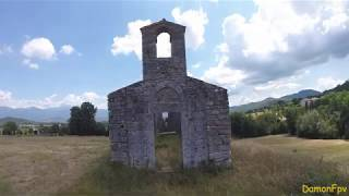 A little sweet Ancient Church(fpv drone freestyle)