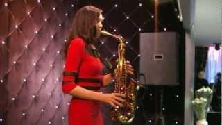 Жанна Багаева (золотой саксофон)