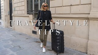 Travel Style Tips & Travel Outfits ✈️