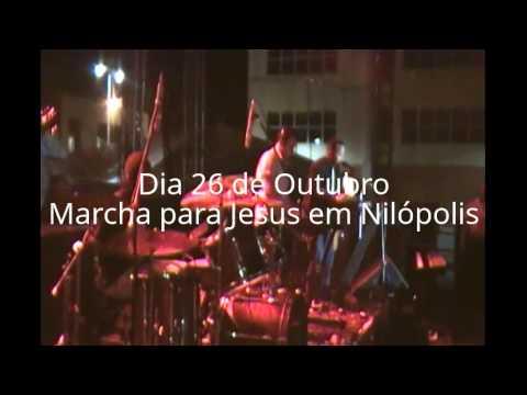 Marcha para Jesus em Nilópolis - 26 de Outubro: Galera de Nilópolis na Marcha para Jesus em Mesquita