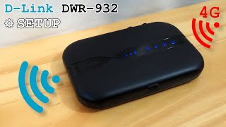 D-Link DWR-932 portable 4G router Wi-Fi • Unboxing, installation, configuration and test