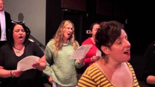 "PopUp Chorus sings ""What's A Girl To Do"" by Bat For Lashes"