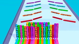 Pencil Rush 3D - Level 54-68 Gameplay Android, iOS