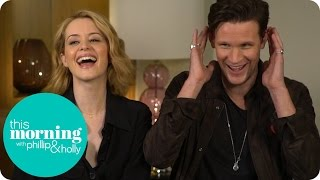 Мэтт Смит, Alison Insults Matt Smith's Ears And Learns How To Speak Like The Queen | This Morning