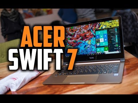 Acer Swift 7 Review - The Worlds Thinnest Laptop (2018)!