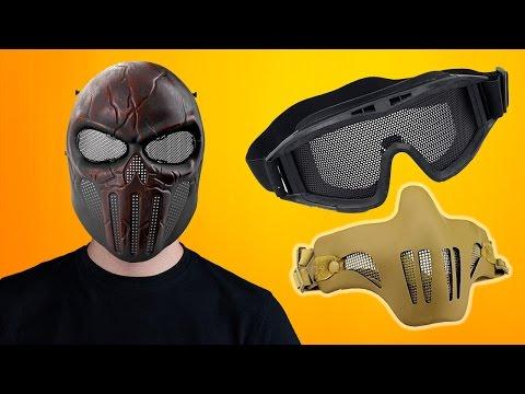 СТРАЙКБОЛЬНАЯ АКАДЕМИЯ. Как защитить глаза и лицо // Airsoft protection gear