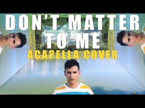 Drake - Don't Matter To Me ft. Michael Jackson [ACAPELLA]