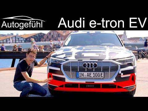 The first all-electric Audi – REVIEW Audi e-tron Interior & driving impression – Autogefühl