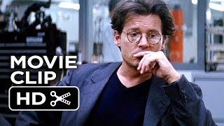 Transcendence Movie CLIP  RIFT 2014  Johnny Depp Morgan Freeman SciFi Movie HD