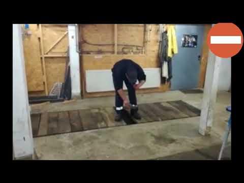 Эксперимент с петардой в гараже