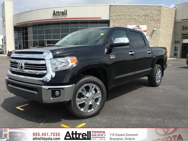 2016 toyota tundra 4x4 crewmax platinum 1794 edition toronto on attrell toyota. Black Bedroom Furniture Sets. Home Design Ideas