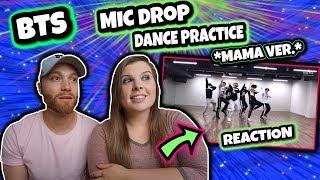 [CHOREOGRAPHY] BTS (방탄소년단) 'MIC Drop' Dance Practice (MAMA dance break ver.) #2019BTSFESTA REACTION