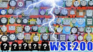 EXTRAORDINARY WORLD'S STRONGEST ENGINE 200: THOMAS AND FRIENDS TRACKMASTER TOY TRAINS
