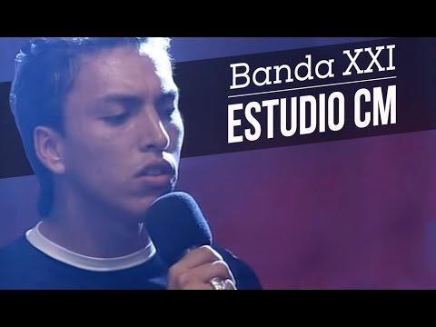 Banda XXI video Entrevista y Show - Estudio CM 2002