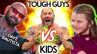 Try NOT To FAIL Challenge | Is DAVE BAUTISTA Tougher Than KIDS?