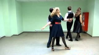 марш парижский схема танца