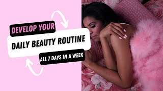 Develop Your Beauty Routine | Self-Care & Beauty Maintenance Schedule ... #UrbaneThoughts