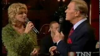 "EDDY ARNOLD and FAITH HILL sing "" O Come all ye Faithful"""