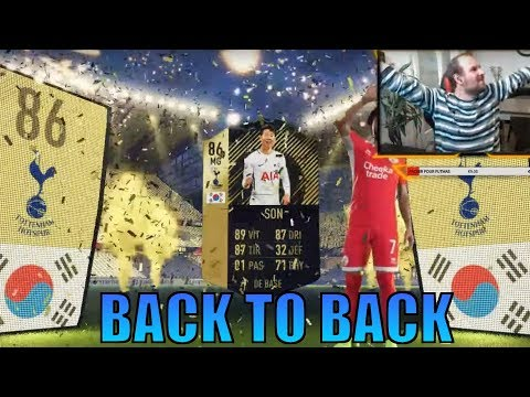 FIFA 18 - BACK TO BACK SON BOOST 86 !!