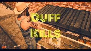 Duff's Dirty Denim Overalls
